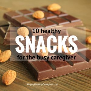 10 healthy snacks for busy caregivers