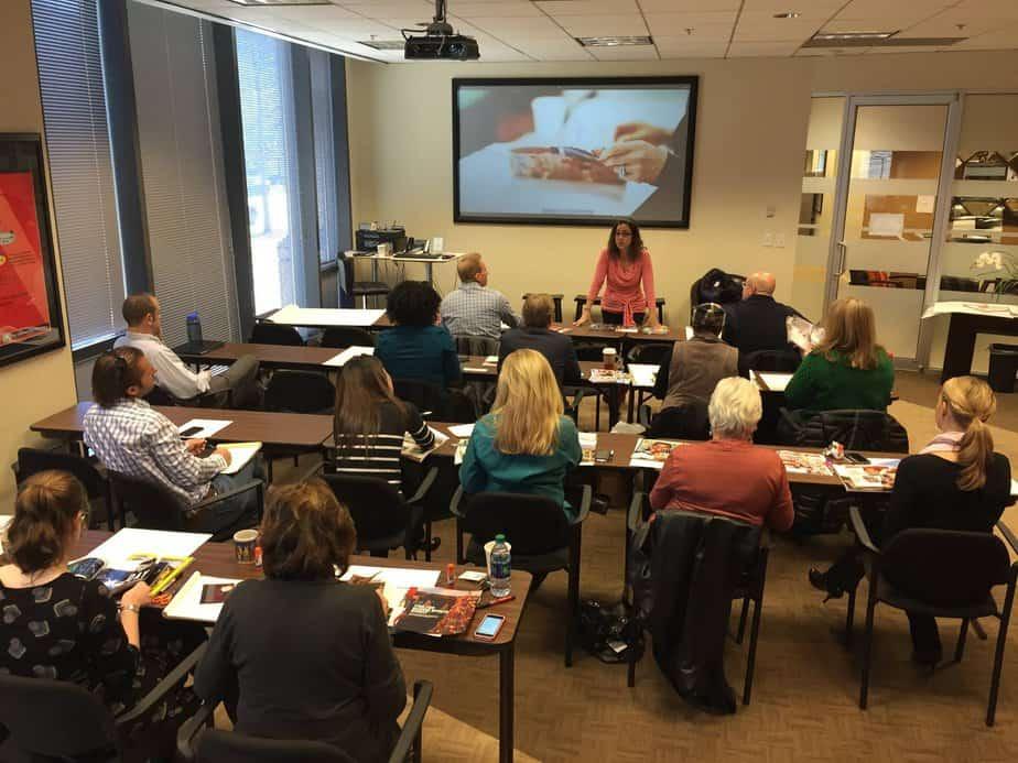 vision class with Karen Habra Smyth