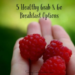 5 healthy grab and go bfast