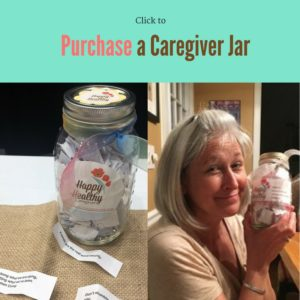 click to purchase a Happy Healthy Caregiver Jar
