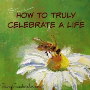 Celebrate a life ©2013_SusieMorrell_Bee