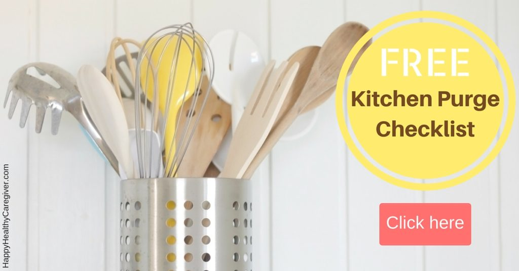 Free Kitchen Purge Checklist
