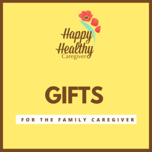 Gifts for family Caregivers