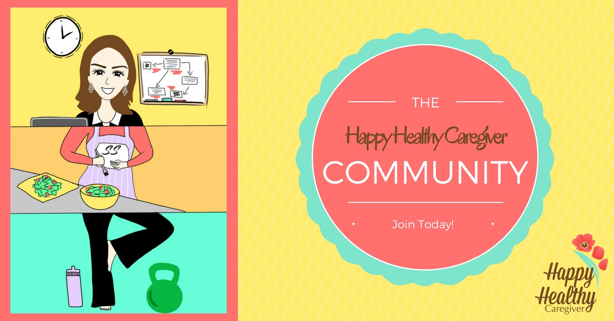 Join the Happy Healthy Caregiver Community