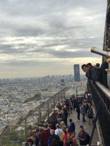 Eiffel Tower View 2nd level Paris