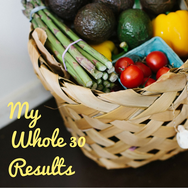 My Whole30Results