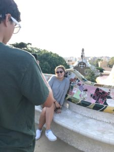 Gaudi Park Guell View