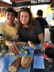 Picnic in Tarragona Market