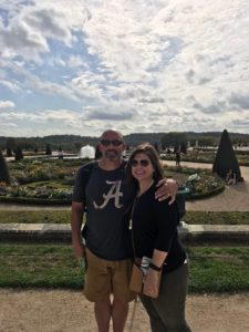 Beautiful Versailles Gardens september
