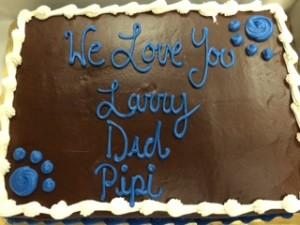 celebration of life cake