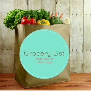 free grocery list