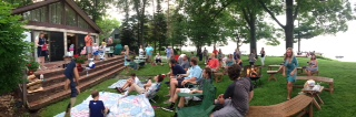 pano of dad's michigan memorial
