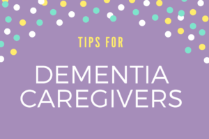 dementia care tips